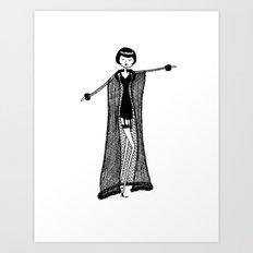 Lingerie 4 Art Print