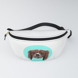 George the King Charles Spaniel Fanny Pack