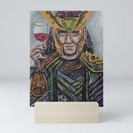 Loki god of Misschief Mini Art Print
