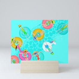 LazyRiver Summer Mini Art Print