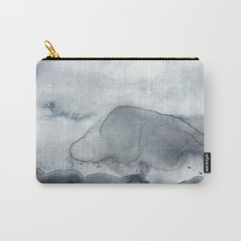 Grey Clouds Carry-All Pouch