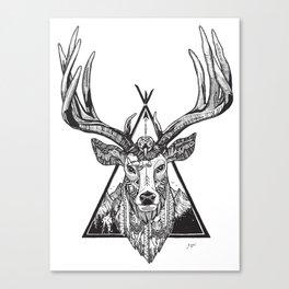 Solos Deer Canvas Print