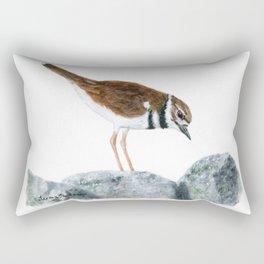 Killdeer Art 2 by Teresa Thompson Rectangular Pillow
