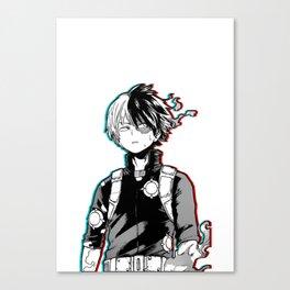 Shoto Todoroki Design Canvas Print