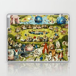 Hieronymus Bosch - The Garden Of Earthly Delights Laptop & iPad Skin