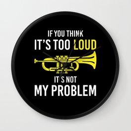 Trumpet Trumpets Gift Wall Clock