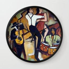 Suenos de Tango Wall Clock