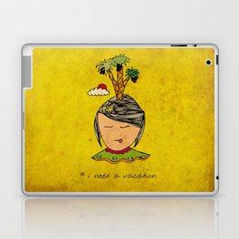 I Need A Vacation Laptop & iPad Skin