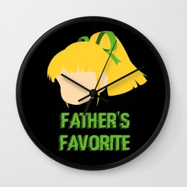 Father's Favorite Wall Clock
