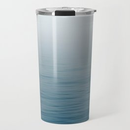 Ocean Blue Gradient Travel Mug