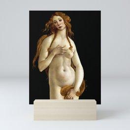 "Sandro Botticelli ""Venus"" (Gemäldegalerie, Berlin) Mini Art Print"