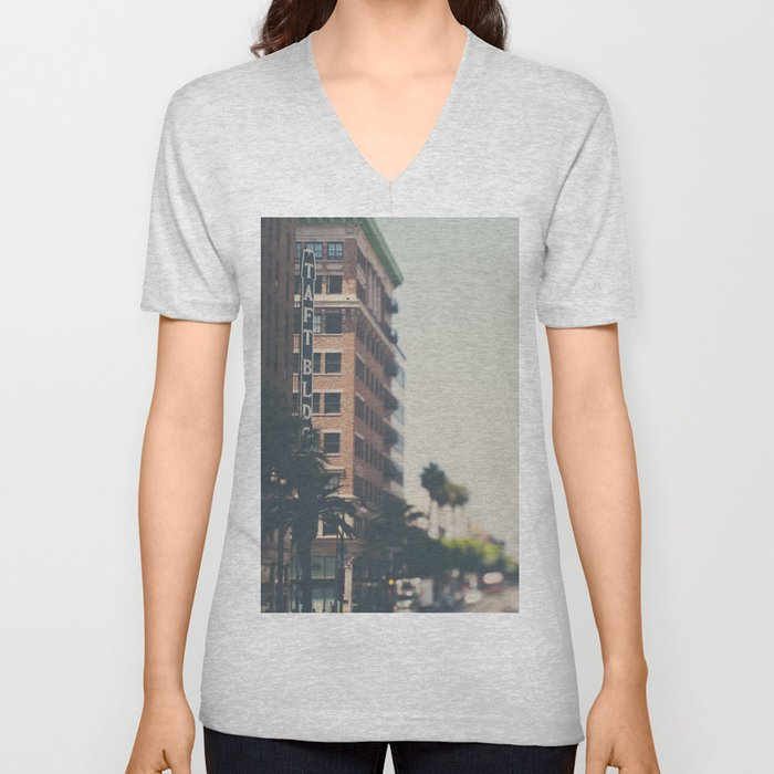 the Taft Building ... Unisex V-Neck
