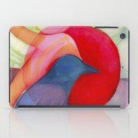 kandinsky iPad Cases featuring Joy by angela deal meanix