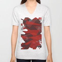 Shades of Red Unisex V-Neck