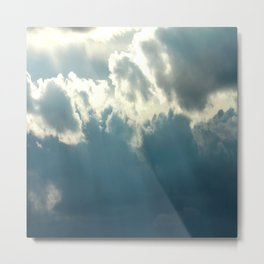 Streaks In The Clouds Metal Print