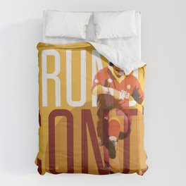 Bruno Conti AS Roma / Serie A Superstar Football Player Comforters