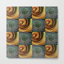 Specular spirals Metal Print