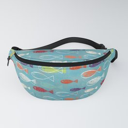 Fish poissons 100 Fanny Pack