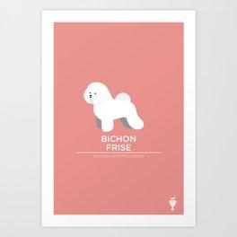 Bichon Frise Art Print