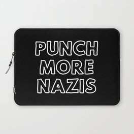 Punch More Nazis Laptop Sleeve