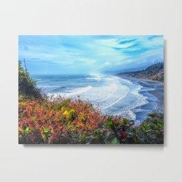 Agate Beach Trinidad California Metal Print