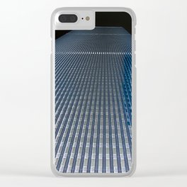 Twin Tower 2 Clear iPhone Case
