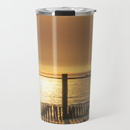 late afternoon in the dunes Travel Mug