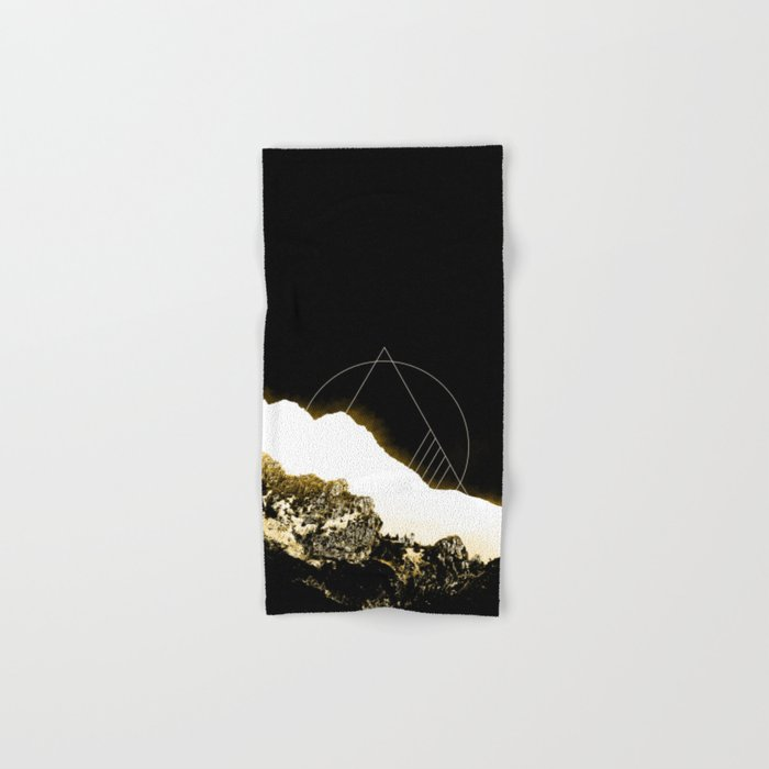 Golden Mountain Hand & Bath Towel