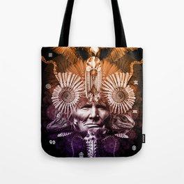 Psychedelic Shaman Tote Bag