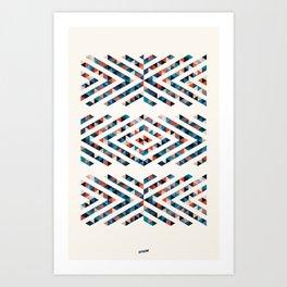 INDIAN - TOTEM Art Print