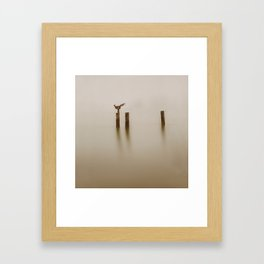 A Sculpture Framed Art Print
