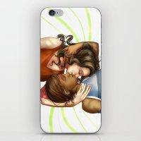 korrasami iPhone & iPod Skins featuring Korrasami by laya rose