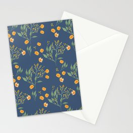 Berries and Daisies Stationery Cards