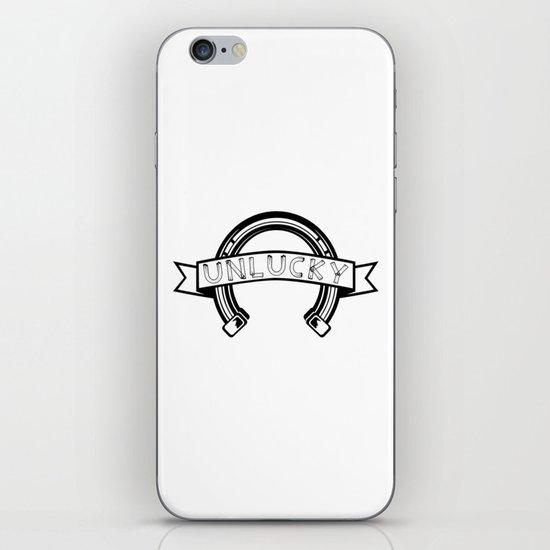 Unlucky Horseshoe iPhone & iPod Skin