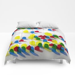 Village of Colors Comforters