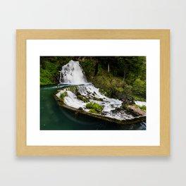 Jaun Falls Framed Art Print