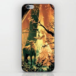 Feral Strings iPhone Skin