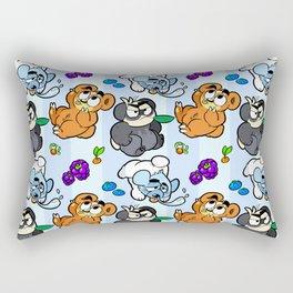 Bear Trio Rectangular Pillow