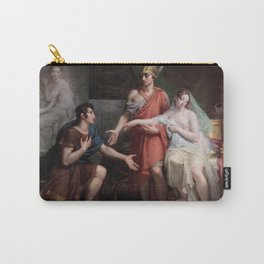 Charles Meynier - Alexander the Great Giving Campaspe to Apelles Carry-All Pouch