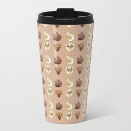 Chocolate hearts Travel Mug