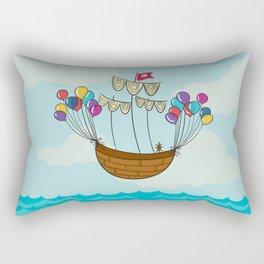 Navicula Flotante Rectangular Pillow