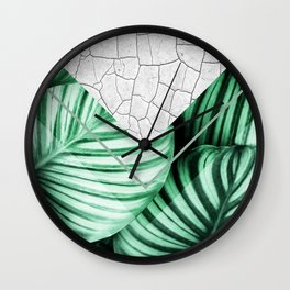 Geometric Composition 4 Wall Clock
