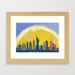 NY NY Framed Art Print