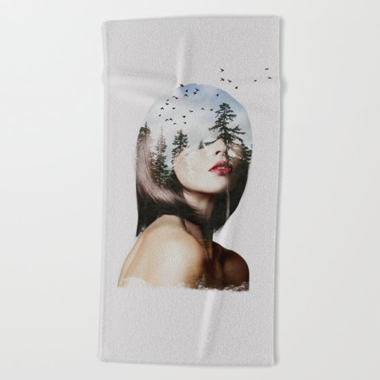 Lisa Mona Beach Towel