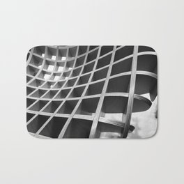 Functional Geometry Bath Mat