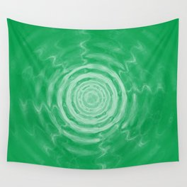 Ripples_Green Wall Tapestry