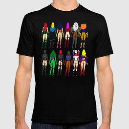 Superhero Butts - Girls Superheroine Butts LV T-shirt