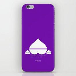 Symbol of Love - Taj mahal India iPhone Skin