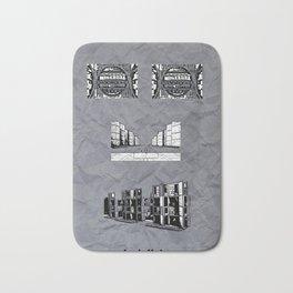 Louis Kahn Bath Mat