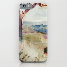 Charles Conder  -  Dandenongs From Heidelberg iPhone Case